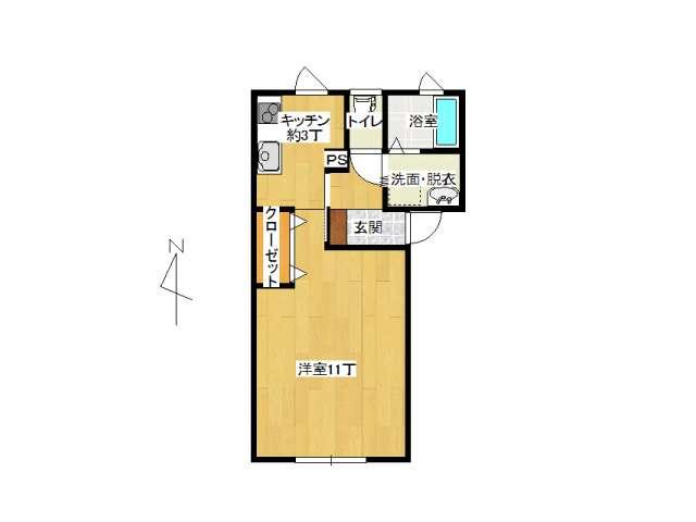 アパート 弘前市早稲田4丁目「ドゥ早稲田」101号室 メイン画像