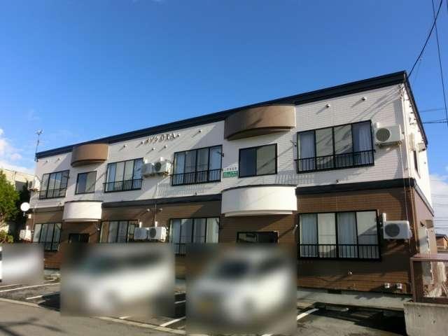 アパート 弘前市八幡町2丁目「メゾンOTA」203号室 メイン画像