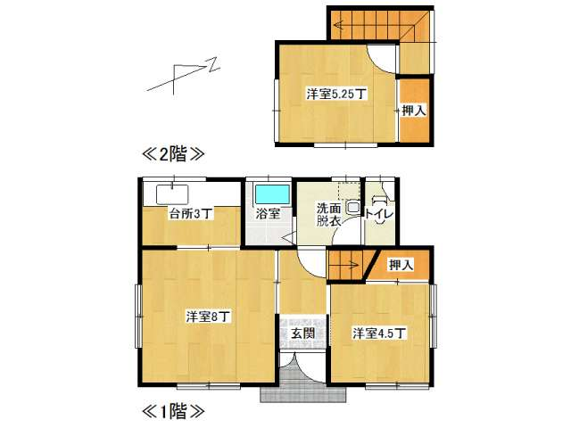 戸建 弘前市堅田3丁目「堅田 相馬貸家」2号室 メイン画像
