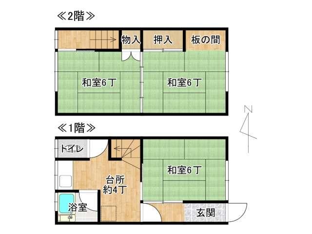 アパート 弘前市城東1丁目「あぱーと寿」5号室 メイン画像