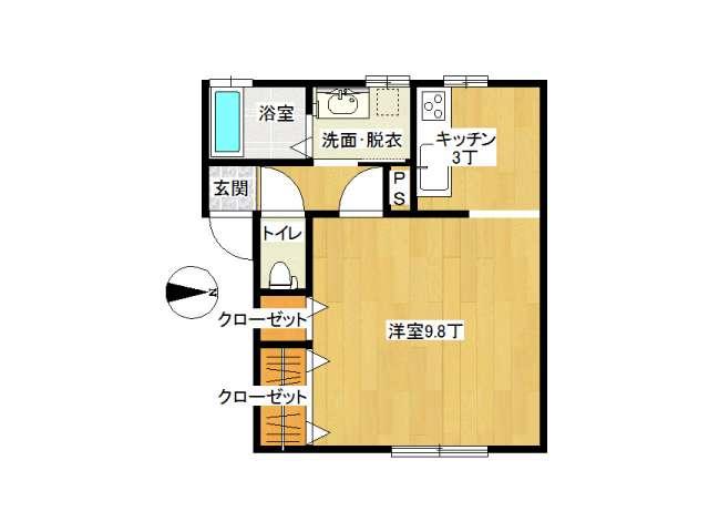 アパート 弘前市早稲田3丁目「グランデSAKURAⅡ」201号室 メイン画像