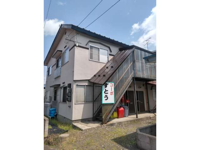 アパート 弘前市山王町「コーポすとう」102号室 メイン画像