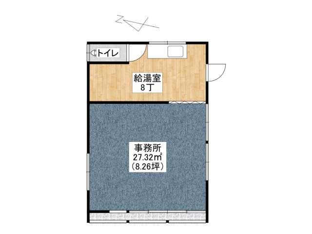 事務所 弘前市城東北1丁目「すごう貸事務所」 メイン画像