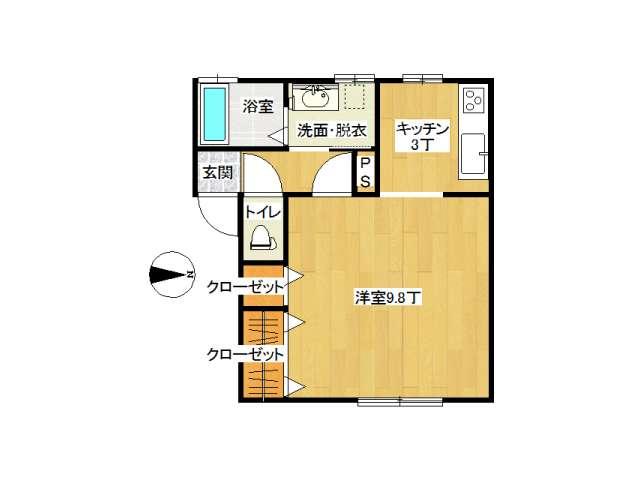 アパート 弘前市早稲田3丁目「グランデSAKURAⅡ」103号室 メイン画像