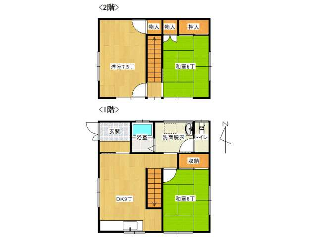 戸建 弘前市末広4丁目「長勝住宅」3号室 メイン画像