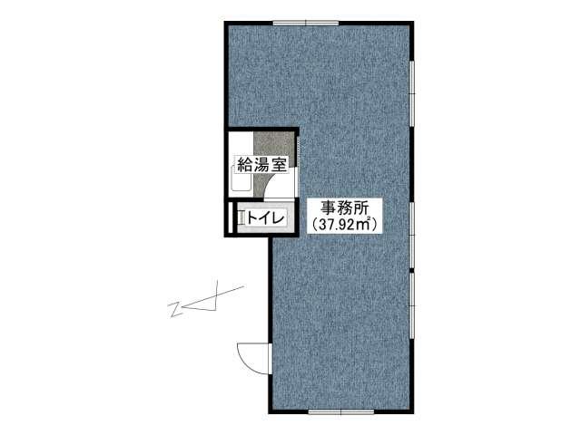 事務所 弘前市茂森町「SKビル」102号室 メイン画像