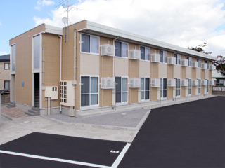 アパート 青森県 弘前市 西城北1丁目3-5 プロスペリテB 1K