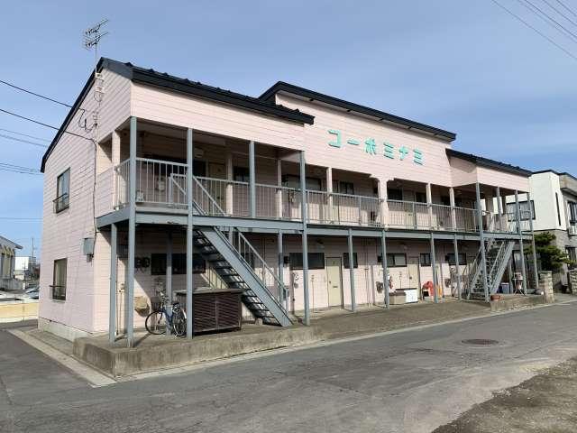 アパート 青森県 五所川原市 元町 コーポミナミ 2室