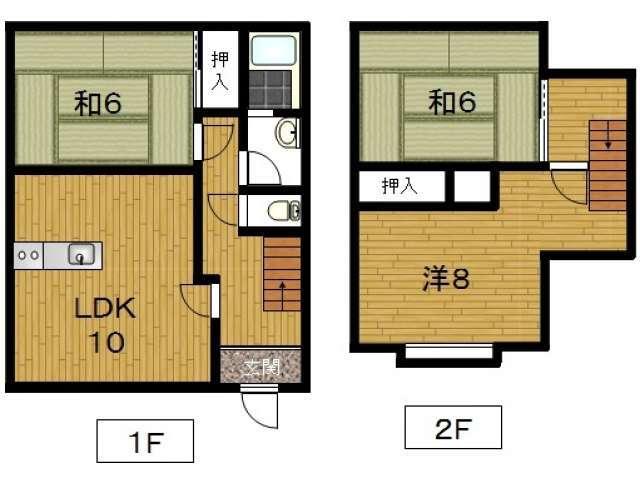 アパート 青森県 青森市 青葉1丁目2-11 ルグランおくの 3室