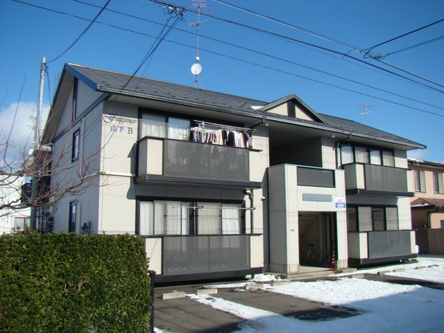 アパート 青森県 八戸市 根城7丁目 ニューフレグランス山下B 2DK