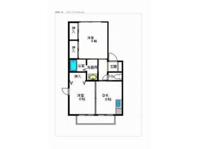 アパート 青森県 八戸市 日計5丁目 メゾン・ド・ファミーユC 2K