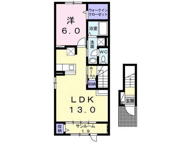 アパート 青森県 八戸市 湊町字下河原 ラフレシール