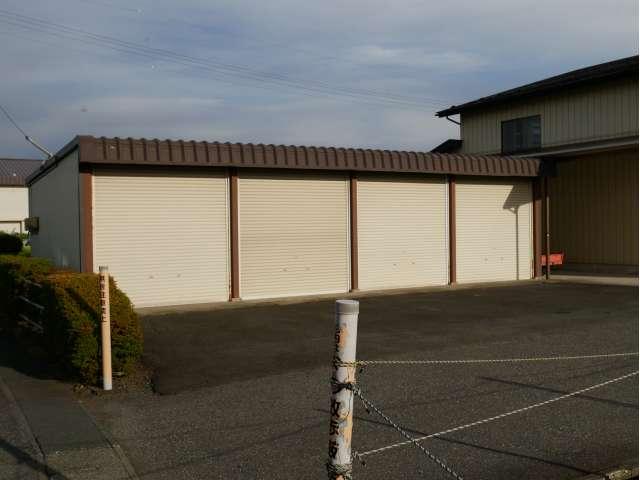 駐車場 岩手県 奥州市 水沢台町3 台町車庫 (北側)