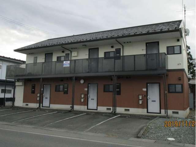アパート 岩手県 奥州市 胆沢小山字龍ヶ馬場 コーポオアシス 2K