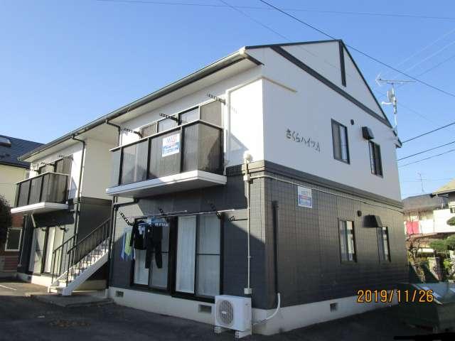 アパート 岩手県 奥州市 水沢字桜屋敷 さくらハイツA棟 2DK