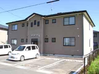 アパート 岩手県 奥州市 江刺杉ノ町 ネオ・アーブルI 2LDK