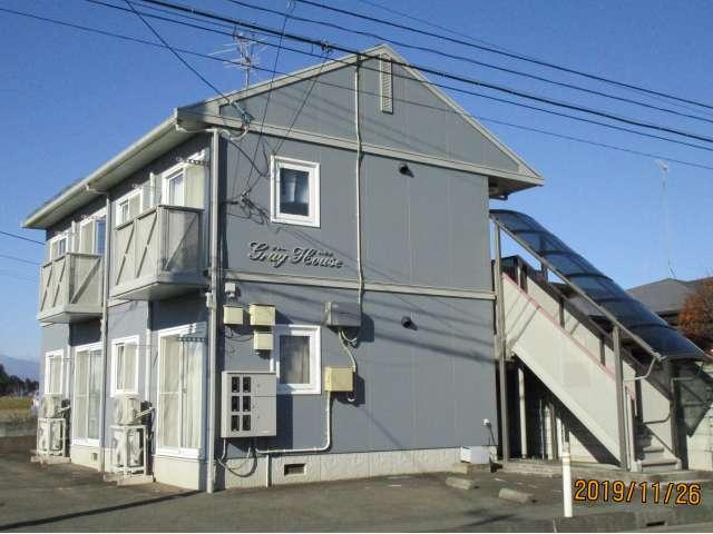 アパート 岩手県 奥州市 水沢真城字上野 グレイハウス 1DK