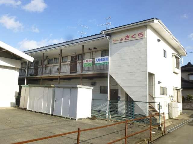 アパート 岩手県 奥州市 水沢斉の神 コーポさくら 2K