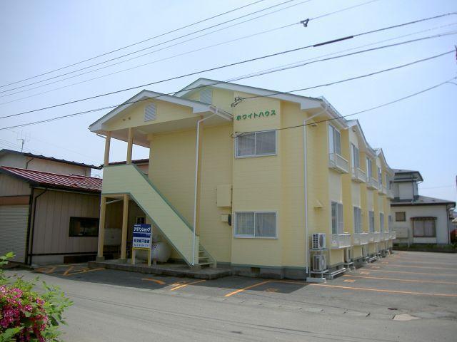 アパート 岩手県 奥州市 水沢区羽田町駅前一丁目 ホワイトハウス 1K