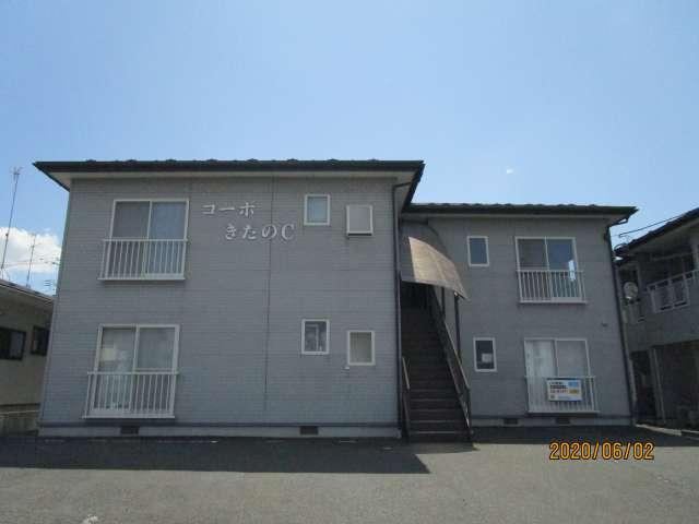 アパート 岩手県 奥州市 水沢桜屋敷 コーポきたのC棟 2K