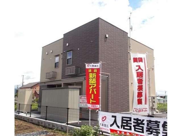 アパート 岩手県 奥州市 前沢区あすか通 カーサOH 1LDK