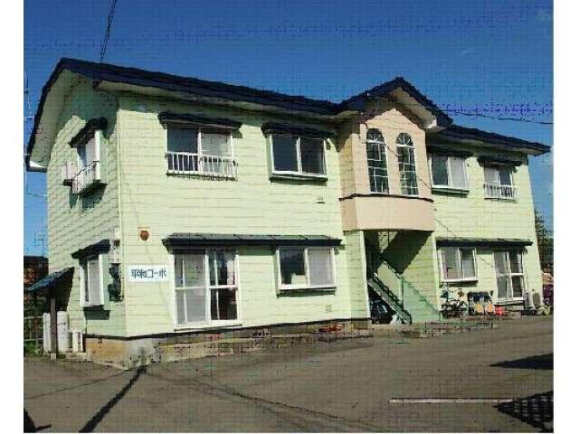 アパート 秋田県 大館市 八幡沢岱 平和コーポ 2DK