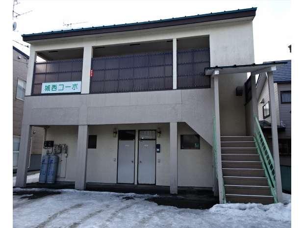 アパート 秋田県 大館市 美園町 城西コーポ 1DK