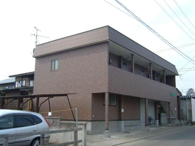 アパート 秋田県 大館市 赤館 ベルツリー 1K
