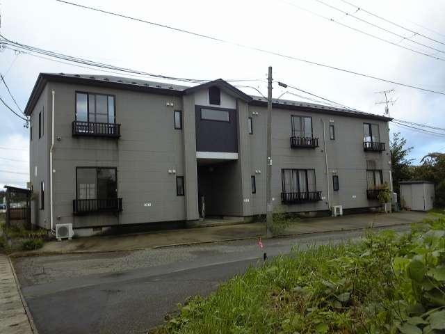アパート 秋田県 潟上市 天王字持谷地 グリーンハイム 1LDK