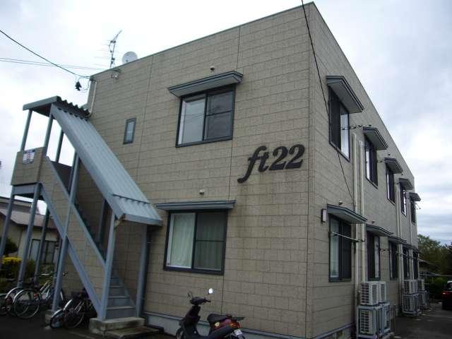 アパート 秋田県 秋田市 新屋松美ガ丘北町 FT22 1K