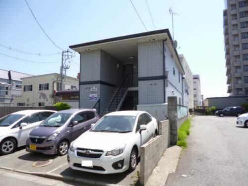 アパート 秋田県 秋田市 中通6丁目 ボナール 1K